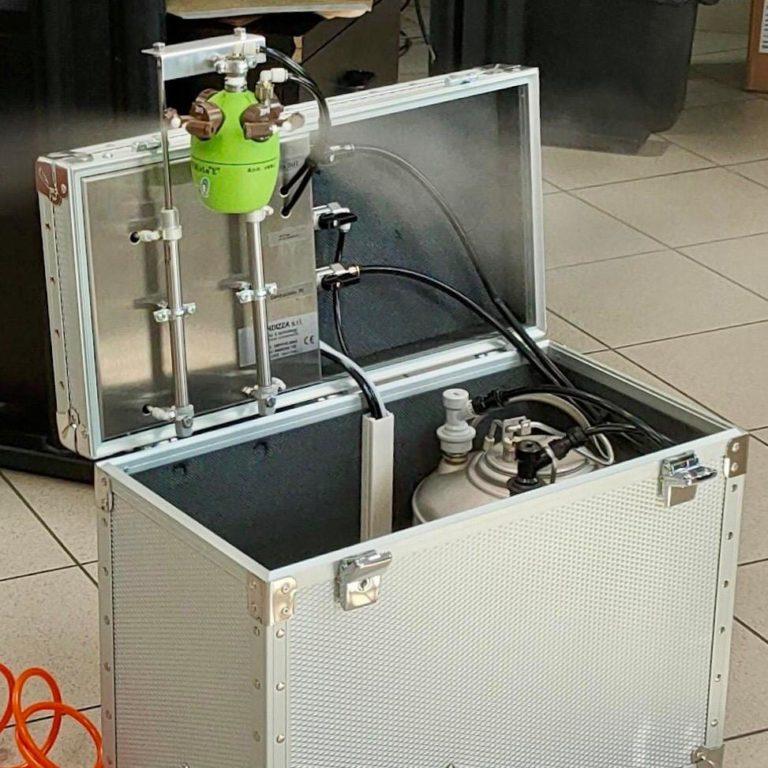 Closed environment sanitation equipment